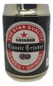 50 mm Beer Can Style 4 Part Grinder - Black