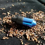 One Hitter Black Mini Nipple - Blue