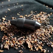 One Hitter Black Mini Nipple - Black